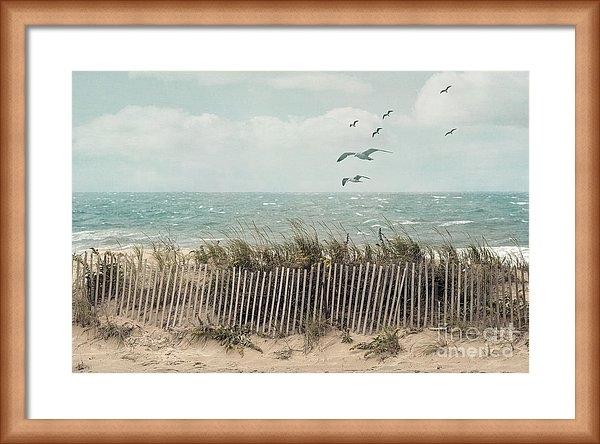 Juli Scalzi - Cape Cod Beach Scene Print