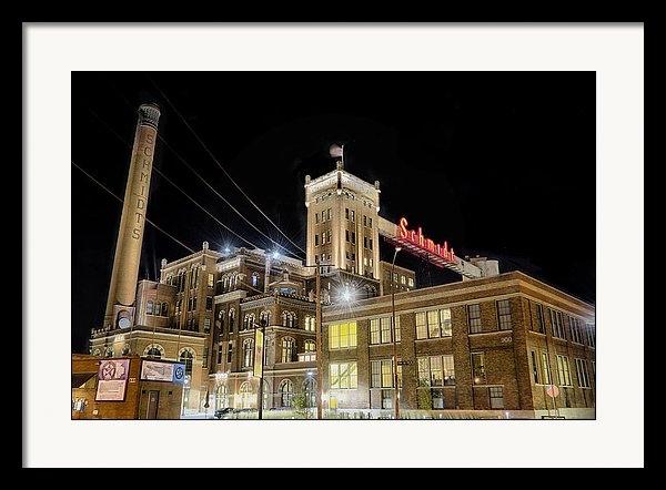 Craig Voth - Schmidt Beer Building Print