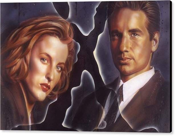 Tim  Scoggins - X-Files Print