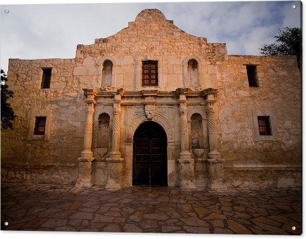 Samuel Kessler - San Antonio Alamo at Sunr... Print