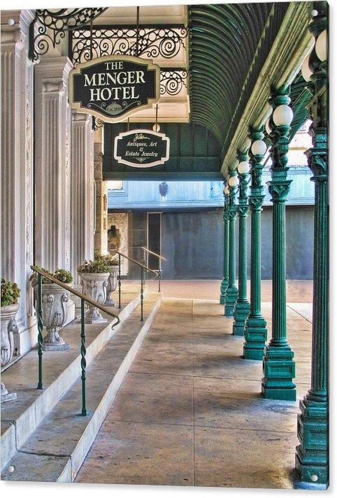 David and Carol Kelly - The Menger Hotel in San A... Print