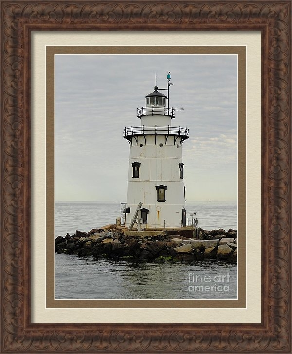 Meandering Photography - Saybrook outer light Print