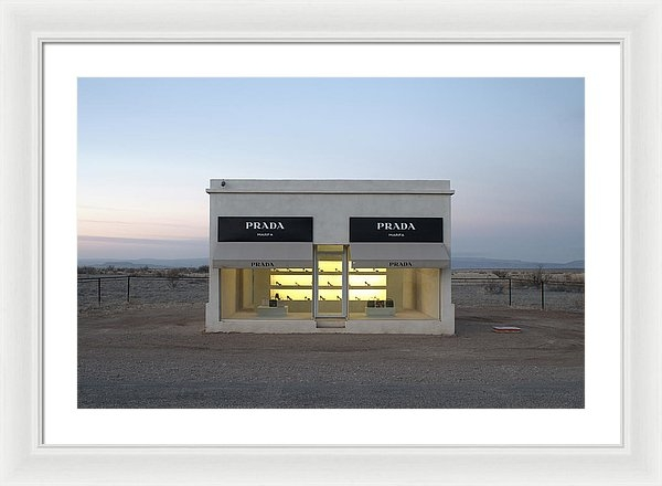 Greg Larson - Prada Marfa Print