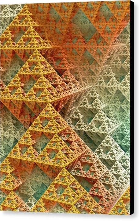 David Parker - Sierpinski Triangles Print