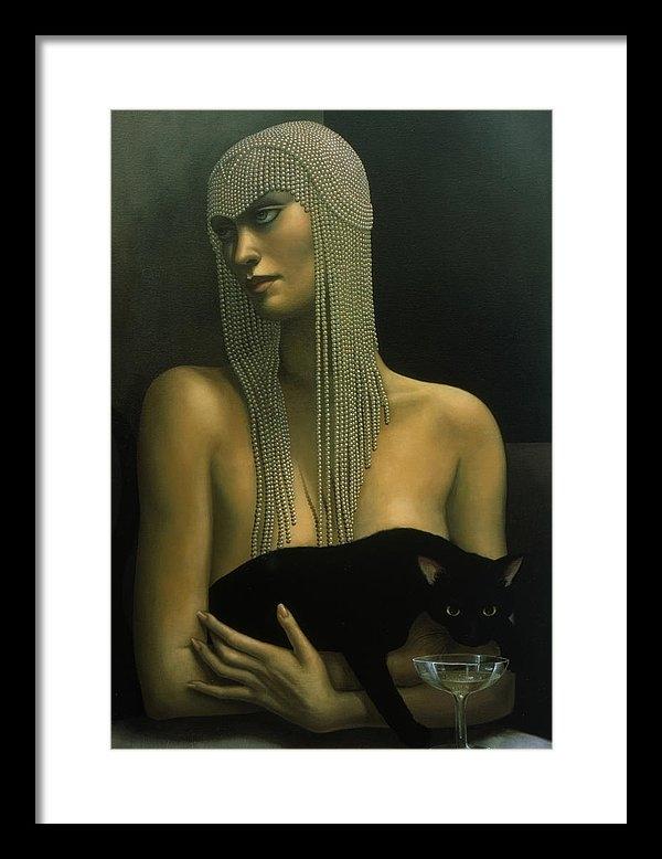 Jane Whiting Chrzanoska - Solitare Print