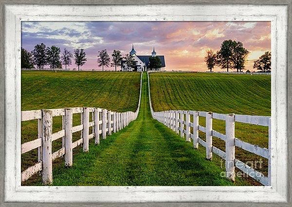 Anthony Heflin - Bluegrass Farm Print