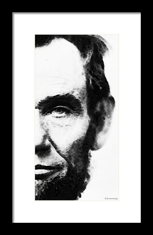 Sharon Cummings - Abraham Lincoln - An Amer... Print