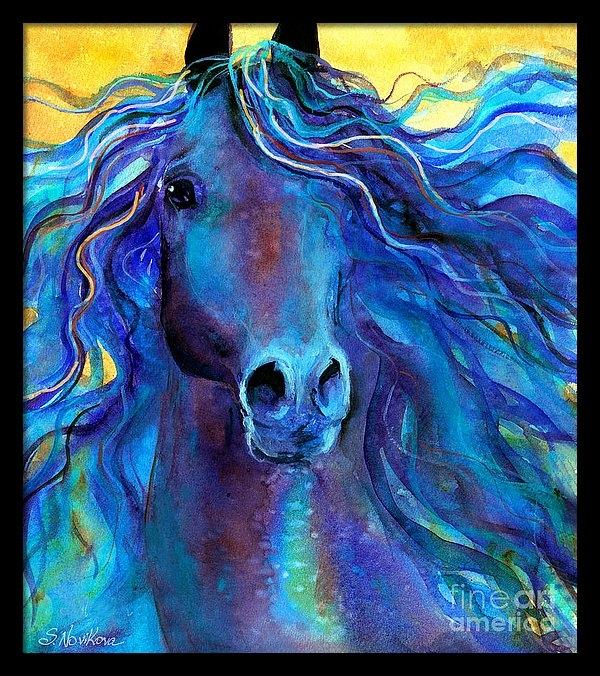 Svetlana Novikova - Arabian horse #3  Print