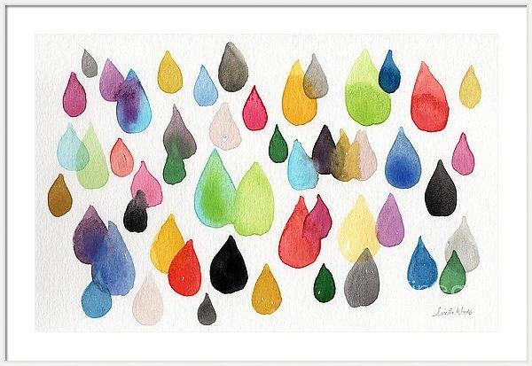 Linda Woods - Tears Of An Artist Print