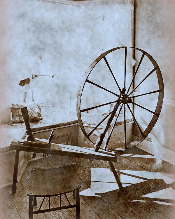 Tony Ambrosio - Spinning Wheel Print