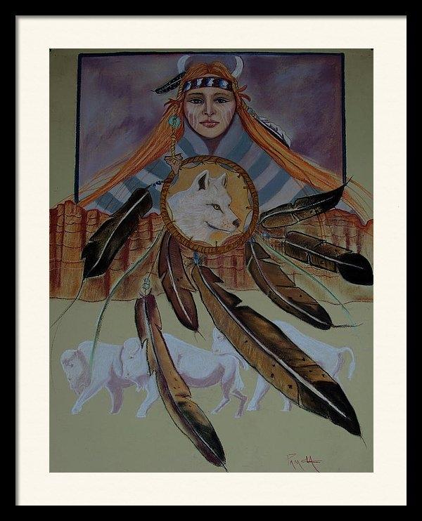 Pamela Mccabe - Buffalo Memories Print