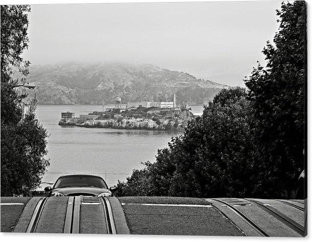 RicardMN Photography - Alcatraz Island from Hyde... Print