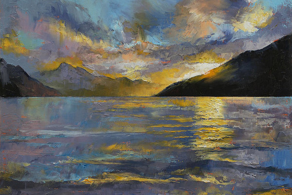 Michael Creese - New Zealand Sunset Print