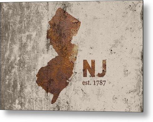 Design Turnpike - New Jersey State Map Indu... Print