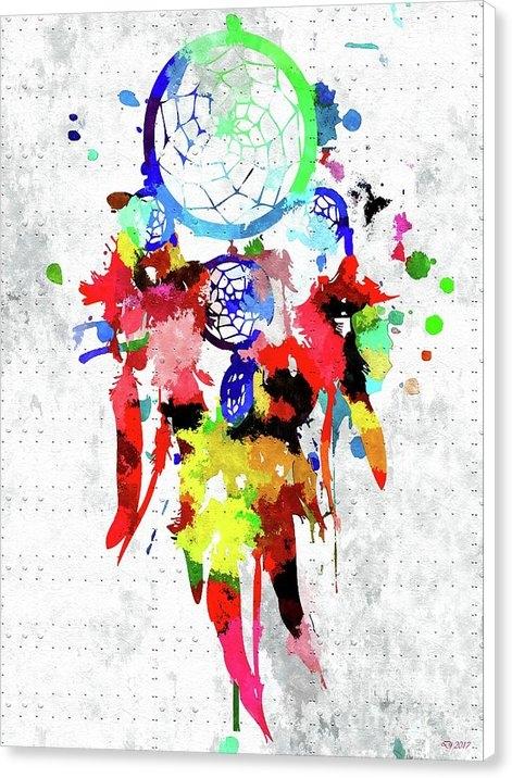 Daniel Janda - Dreamcatcher Grunge Print