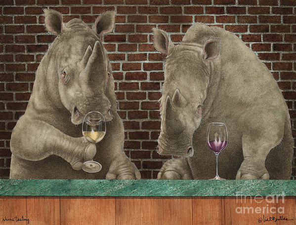 Will Bullas - Rhine Tasting... Print