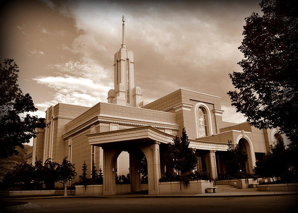 Nathan Abbott - Mount Timpanogos LDS Temp... Print