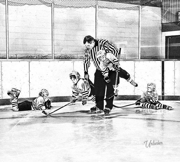 Elizabeth Urlacher - First Skate  Print