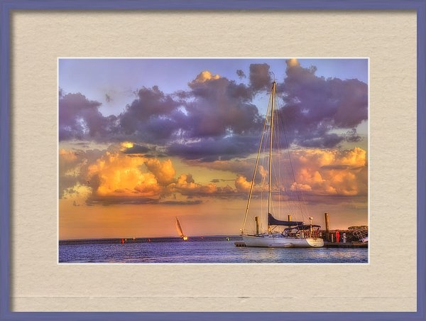 Joann Vitali - Dreamy Harbor - Milford C... Print