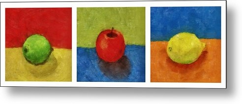 Michelle Calkins - Lime Apple Lemon Print