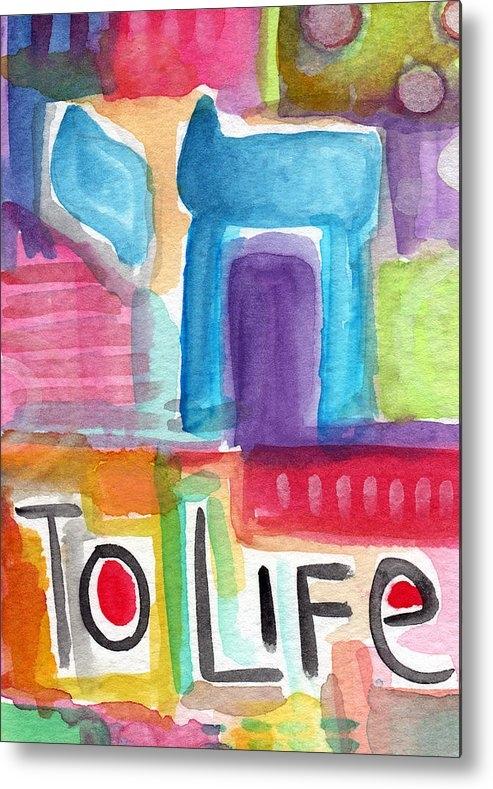 Linda Woods - Colorful Life- Abstract J... Print