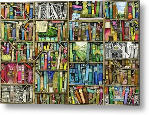 Colin Thompson - Bookshelf Print