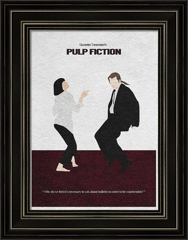 Ayse Deniz - Pulp Fiction 2 Print