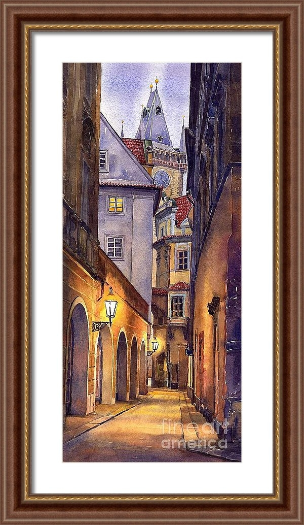 Yuriy  Shevchuk - Prague Old Street  Print