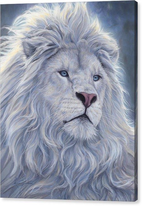Lucie Bilodeau - White Lion Print