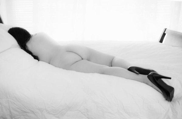 Skip Nall - Nude Woman in High Heels ... Print