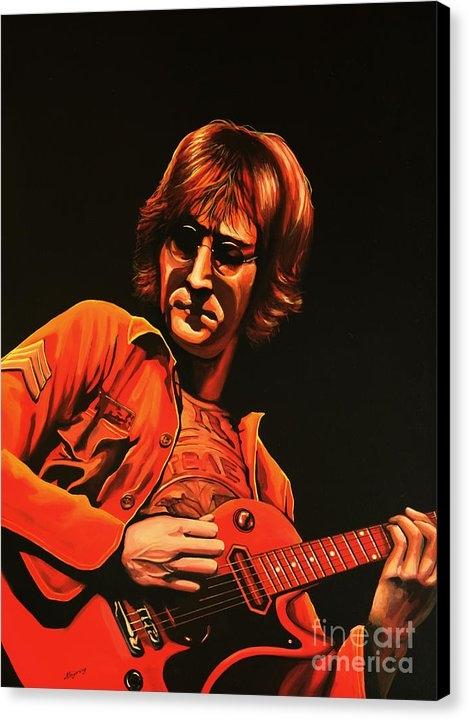 Paul Meijering - John Lennon Painting Print