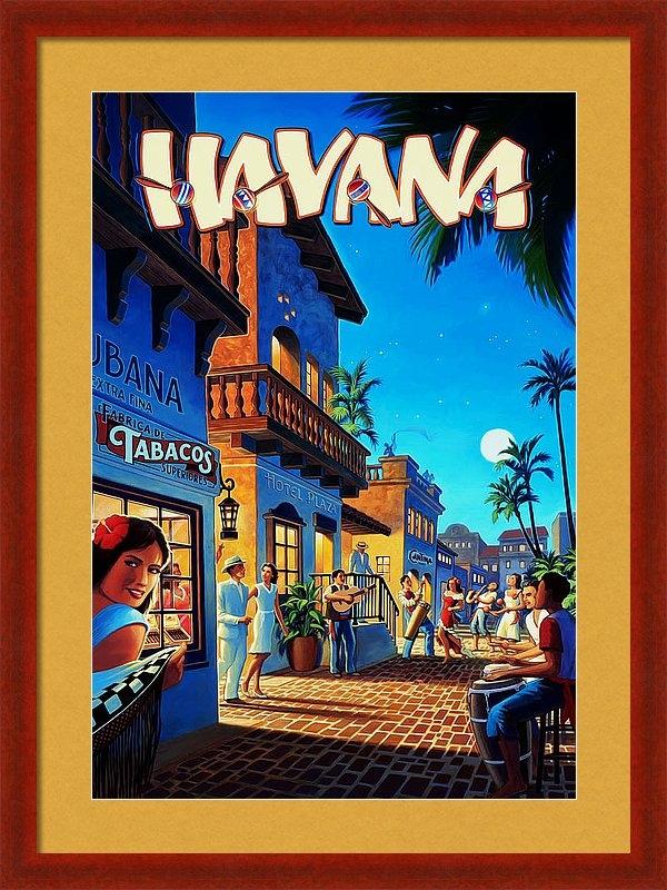 Mark Rogan - Havana Cuba Print