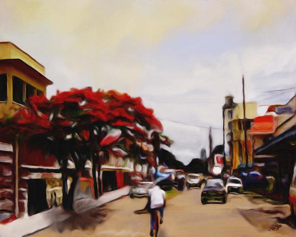 James  Mingo - New Amsterdam Guyana Print