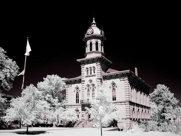 Bob LaForce - Geauga County Courthouse ... Print