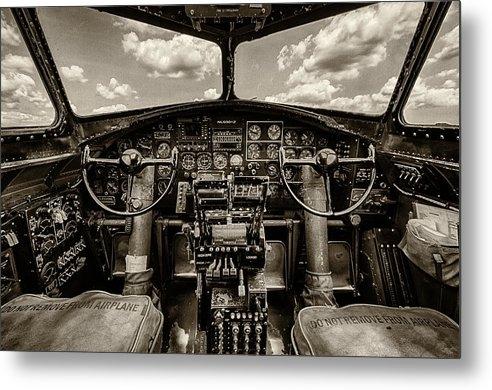 Mike Burgquist - Cockpit of a B-17 Print
