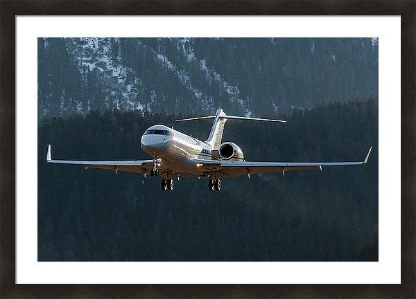 Roberto Chiartano - Bombardier Global XRS D-A... Print