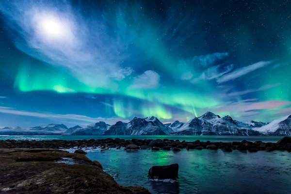 Tor-Ivar Naess - When the moon shines Print