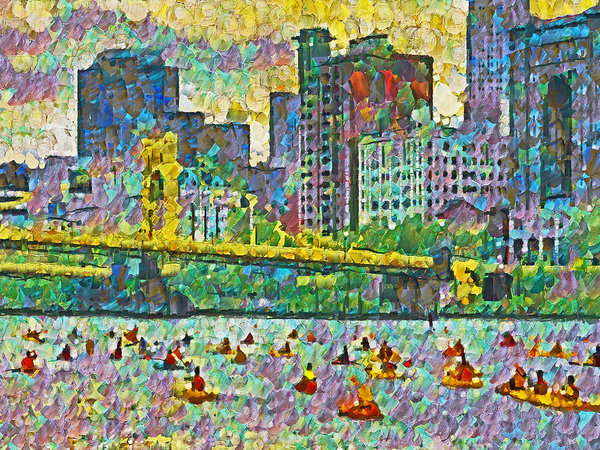 Digital Photographic Arts - Pittsburgh Adventure Race Print