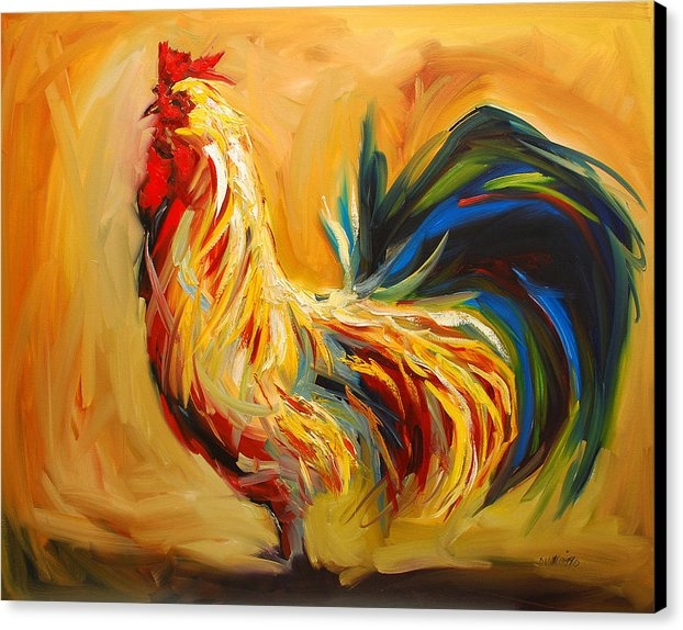Diane Whitehead - Yummy Rooster Print