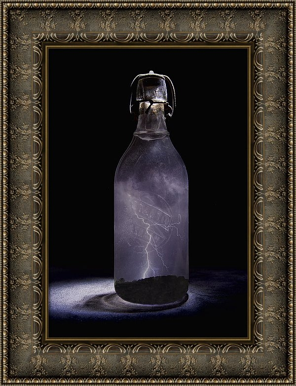 John Crothers - Lightning in a Bottle Print