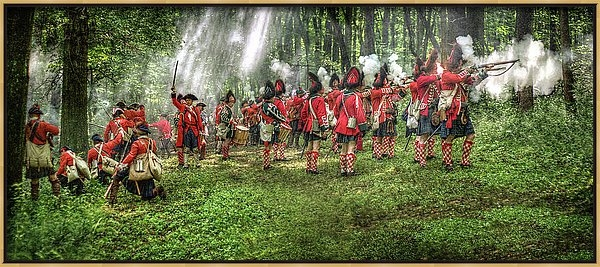 Randy Steele - 1763 Battle of Bushy Run ... Print