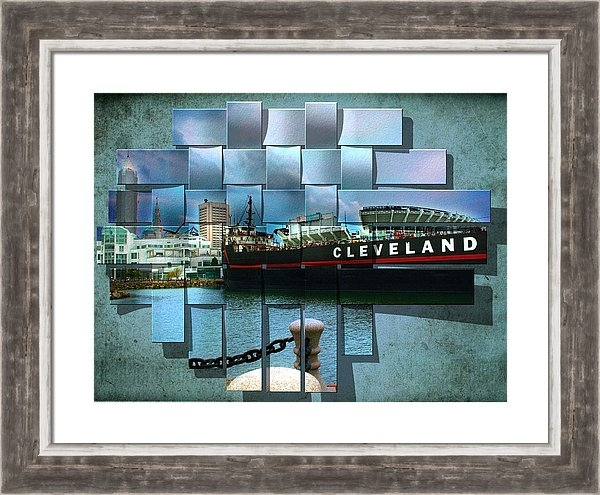 Kenneth Krolikowski - Cleveland A Different Loo... Print