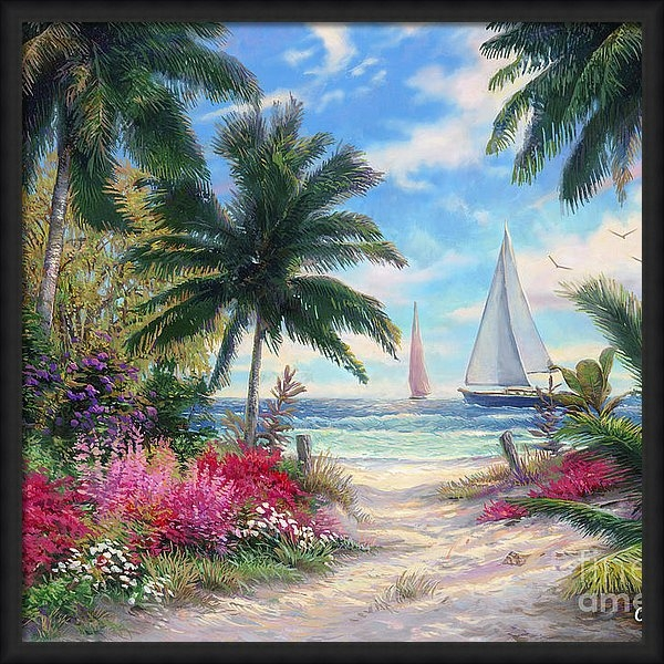 Chuck Pinson - Sea Breeze Trail Print