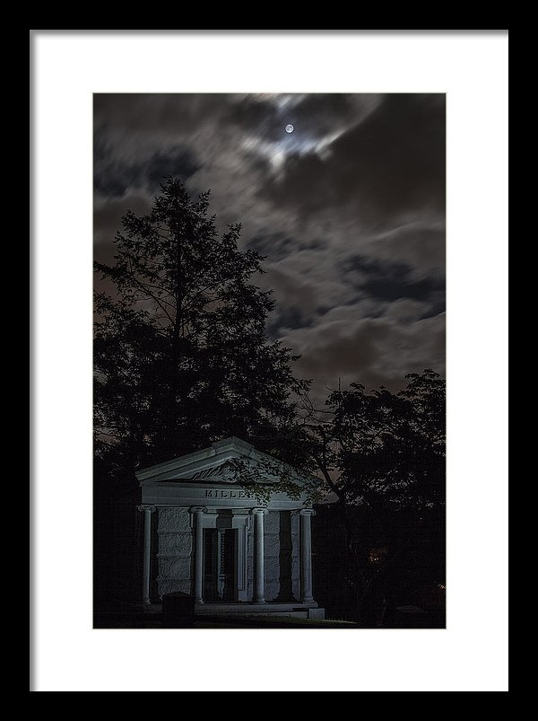 Kerry Lawton - Moonlight Crypt Print