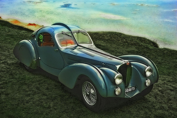 Duschan Tomic - Bugatti Type 57 Atlantic ... Print