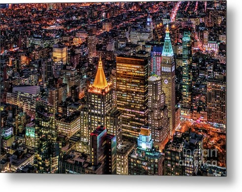 Rafael Quirindongo - City of Lights - NYC Print