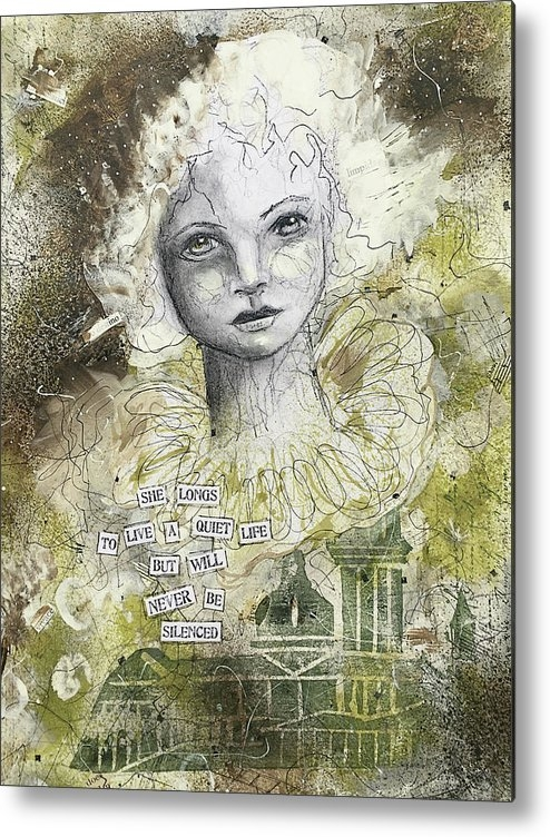Lynn Colwell - She longs to live a quiet... Print