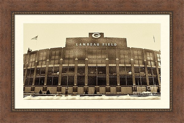 Tommy Anderson - The Frozen Tundra Print