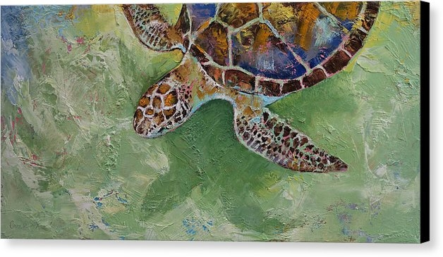 Michael Creese - Caribbean Sea Turtle Print