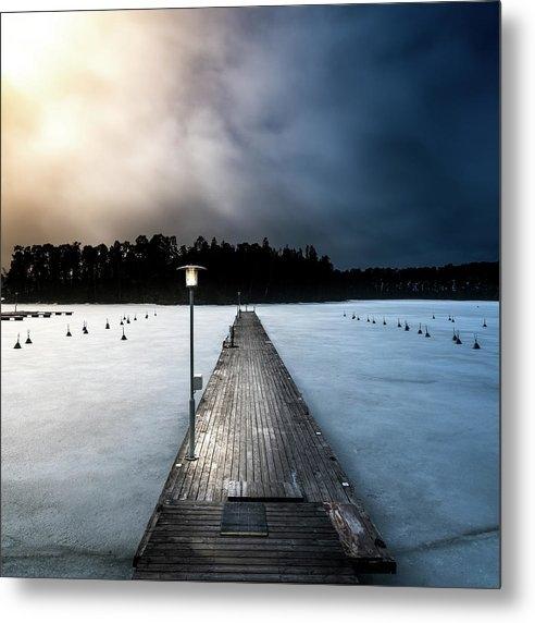 Jari Wintersun - Empty Pier Print